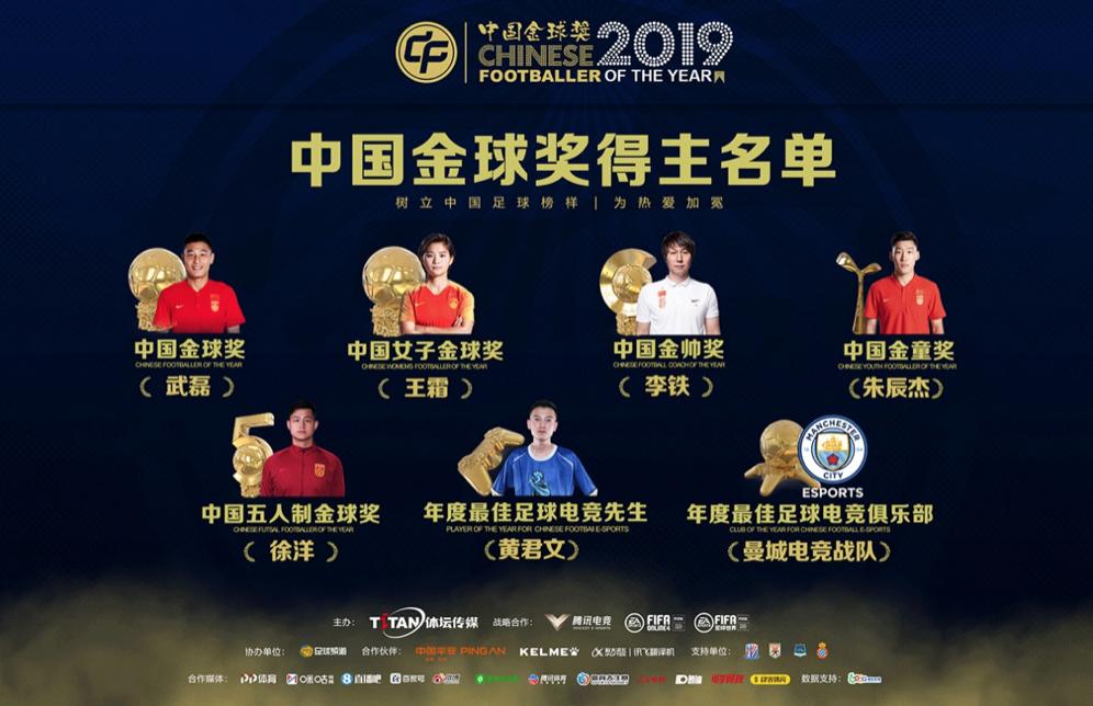 2019中国金球奖颁奖典礼圆满落幕
